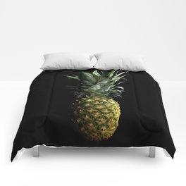 Dark Pineapple Comforters