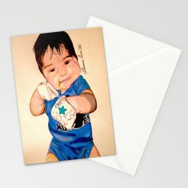 Baby Portrait Stationery Cards