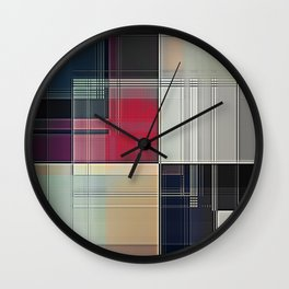 Lines/Abstract Q1 Wall Clock