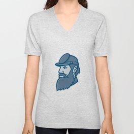 General Stonewall Jackson Mascot Unisex V-Neck