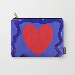 Heart caught in the middle Carry-All Pouch