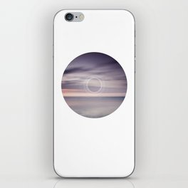 Where the sky touches the sea iPhone Skin