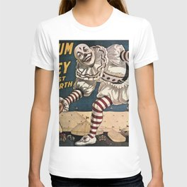 Vintage Circus Poster - Clown T-shirt