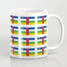 Flag of Central African Republic,car, Bêafrîka,centrafrique,Central African, centrafricain,Oubangui- Coffee Mug