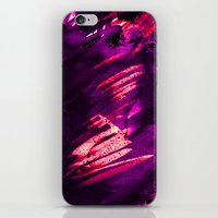 raven iPhone & iPod Skins featuring Raven by Holly Sharpe
