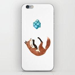Blue Fox iPhone Skin