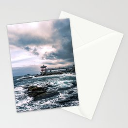 Waves of Adversity Stationery Cards