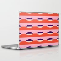 pills Laptop & iPad Skins featuring Pretty Pills by Bryna Faye Shields