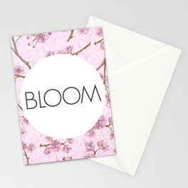 Purple Florals - Bloom Stationery Cards
