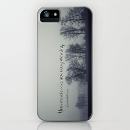 Your Mercies are New  iPhone Case