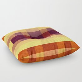 Autumn Winds Abstract Floor Pillow