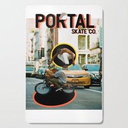 Portal Skate Cutting Board