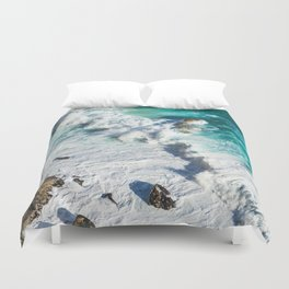 Wave Break - Ocean Shores Duvet Cover