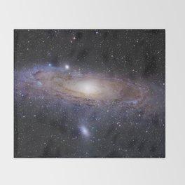 Andromeda Galaxy Throw Blanket
