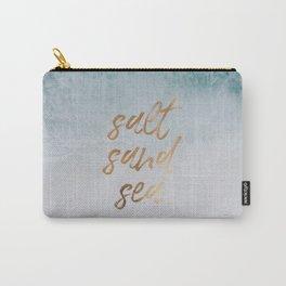 salt, sand, sea x seashore Carry-All Pouch