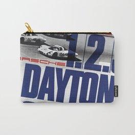 Vintage 1960s Daytona Race Poster Carry-All Pouch