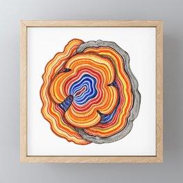 Meditative Feild Framed Mini Art Print