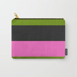 Watermelon Charcola Carry-All Pouch