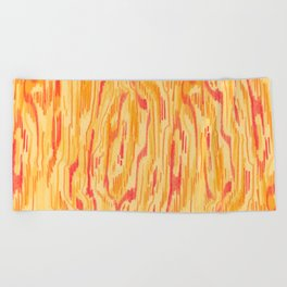 Wooden Beach Towel