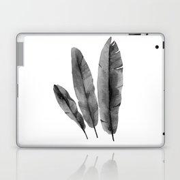 Monochrome leaves Laptop & iPad Skin