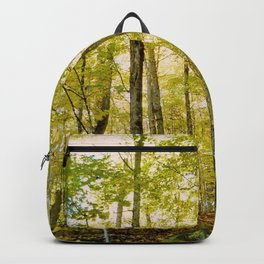 Birches in Autumn Light Backpack
