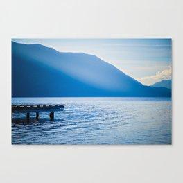 Crescent Lake, Olympic Peninsula, Washington Canvas Print