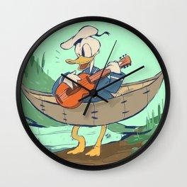 Donald's Vacation Wall Clock
