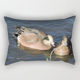 American Wigeons Rectangular Pillow