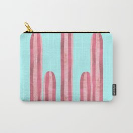 Garden of cacti and blue Carry-All Pouch