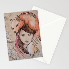 Safe in My Red Riding Hood, Balsa Stationery Cards