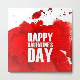 Happy Valentine's Day Metal Print
