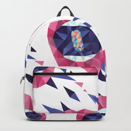 Rainbow Pills in my Mouth - Triangled Lips Backpack