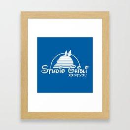 studio ghibli. Framed Art Print
