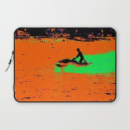 Summer Jetting - Jet Ski Fun Laptop Sleeve