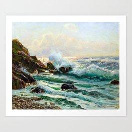Constantin Alexandrovitch Westchiloff Maine Seascape Art Print