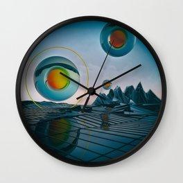 EGG-CB PYROXYLIN Wall Clock