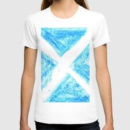 flag of scotland 7– scotland,scot,scottish,Glasgow,Edinburgh,Aberdeen,dundee,uk,cletic,celts,Gaelic T-shirt