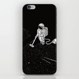 Space Cleaner iPhone Skin