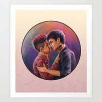 Malec Art Print
