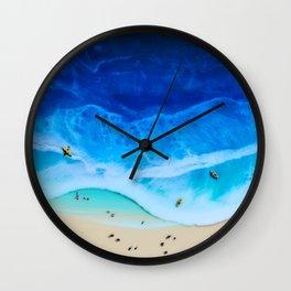 Beach Weekend Wall Clock