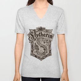slytherine Unisex V-Neck
