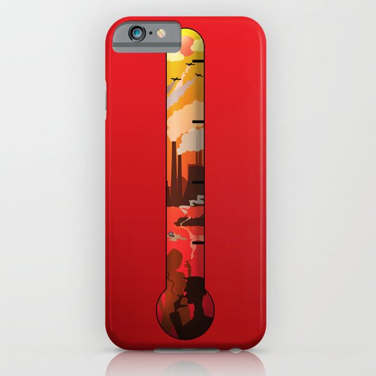 Pollution iPhone & iPod Case