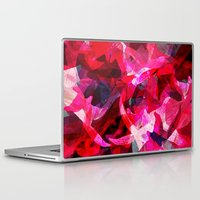 orchid Laptop & iPad Skins featuring Orchid by Allison Holdridge