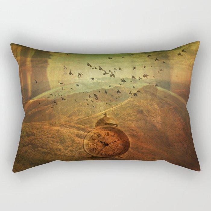 Veil of time Rectangular Pillow
