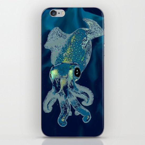 Subaquatic Aurora  iPhone & iPod Skin