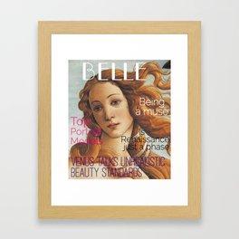 Renaissance Magazine Framed Art Print