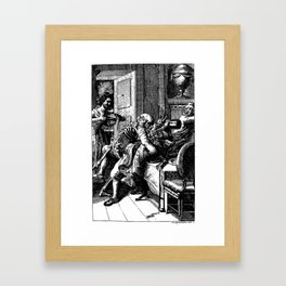 DEATH by ATTACK Framed Art Print
