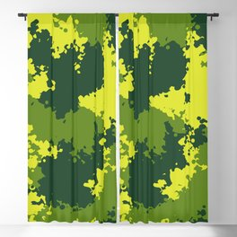 Camouflage jungle 2 Blackout Curtain