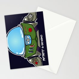 Infinity & Beyond Stationery Cards