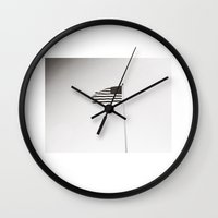 flag Wall Clocks featuring flag by ingardens
